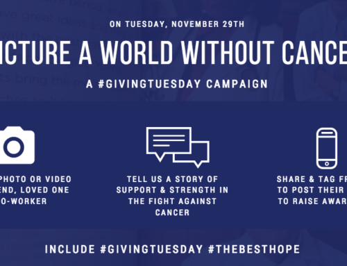 David Kinnear: Giving Tuesday: A Social Media Campaign To Support Cancer Research